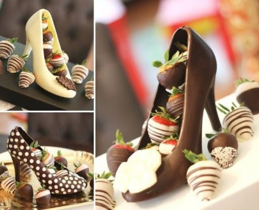 Chocolate High Heel Shoes Tutorial | How To Instructions