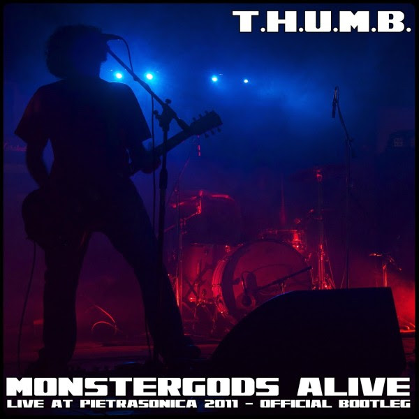 T.H.U.M.B. - Monstergods Alive Album Cover