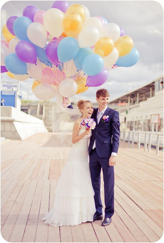 Wedding & Ballons  #шарики.