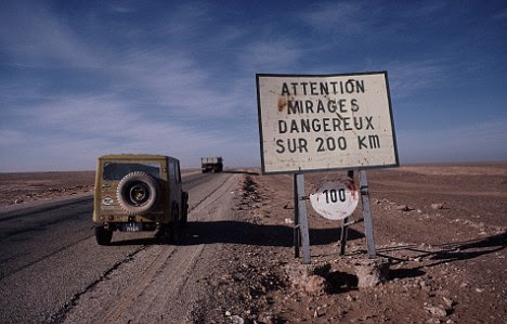 Mirages are dangerous in the desert - but using the 'light-bending' effect could lead to the first workable 'invisibility cloaks'