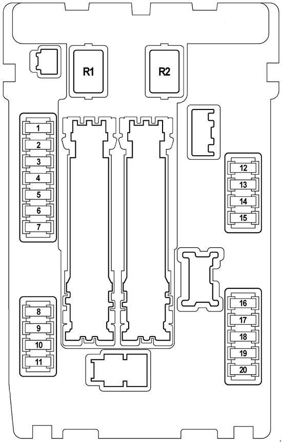 2011 Chevy Impala Fuse Box Diagram