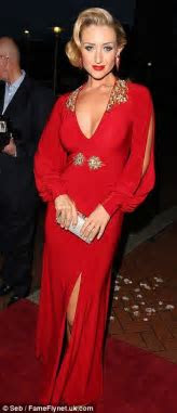 Helen Flanagan oozes classic Hollywood glamour at the