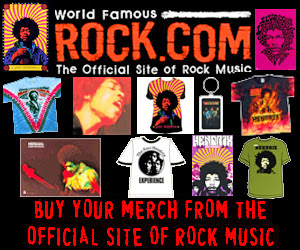 Get Jimi Hendrix T-Shirts & Merch from Rock.com