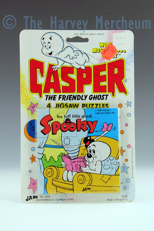 Casper 4 Jigsaw Puzzles, Spooky in chair variant exhibit posted | The Harvey Mercheum