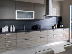 Stunning Cuisine Lineaire Moderne Ideas - House Design - marcomilone.com