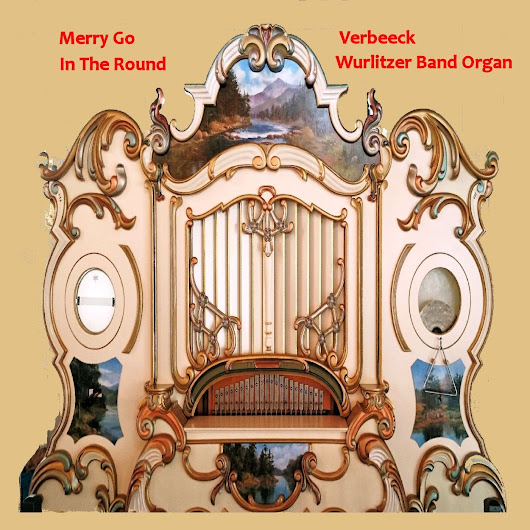 Merry Go In The Round Band Organ|Dynamic Music Store