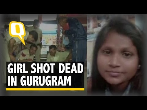 The Quint: 18-Year-Old Girl Shot Dead at Busy Gurugram Market