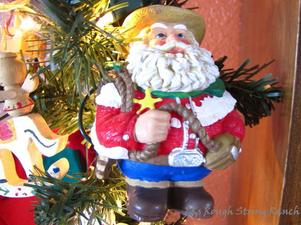 Santa's A Cowboy!