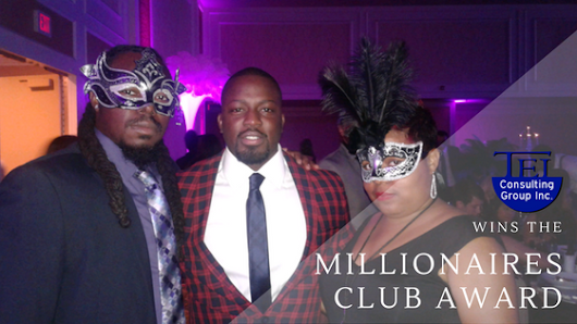 Tei Consulting Group Wins Client's Millionaires Club Award