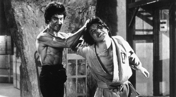 Bruce Lee fought Jackie Chan in Enter the Dragon.