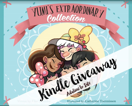Yumi's Extraordinary Collection Kindle Book Giveaway - Adalinc to Life