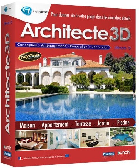 Architecte 3d ultimate 2012 v15 downparadise for Architecte 3d 2011 ultimate