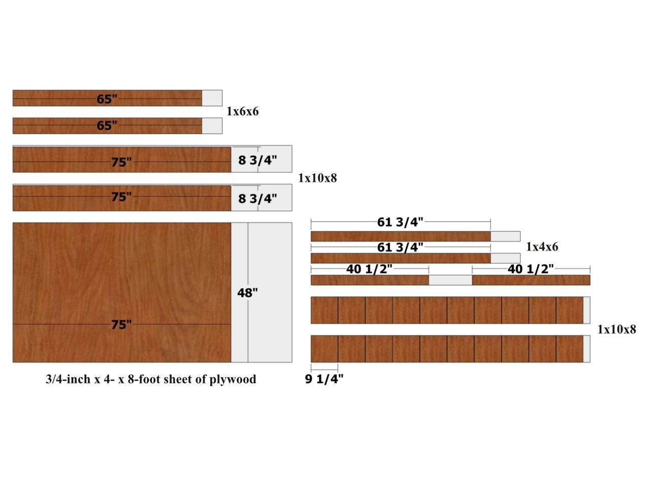 September 2018 Wood Workbench Plans