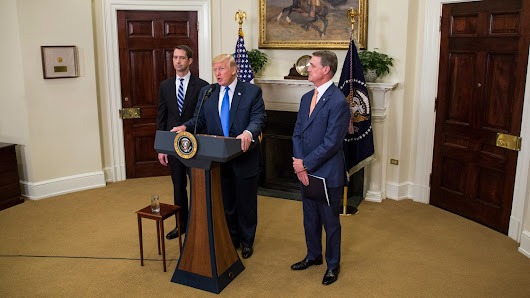 Tom Cotton, David Perdue, and the Trap of Lying for Donald Trump