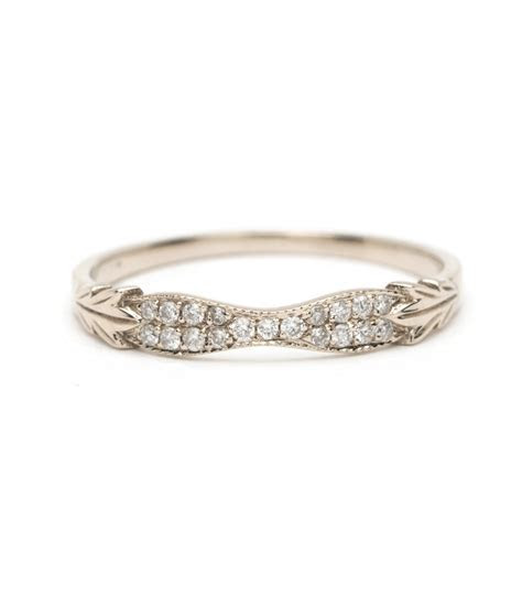 Women's Wedding Bands   Vintage Inspired Wedding Band