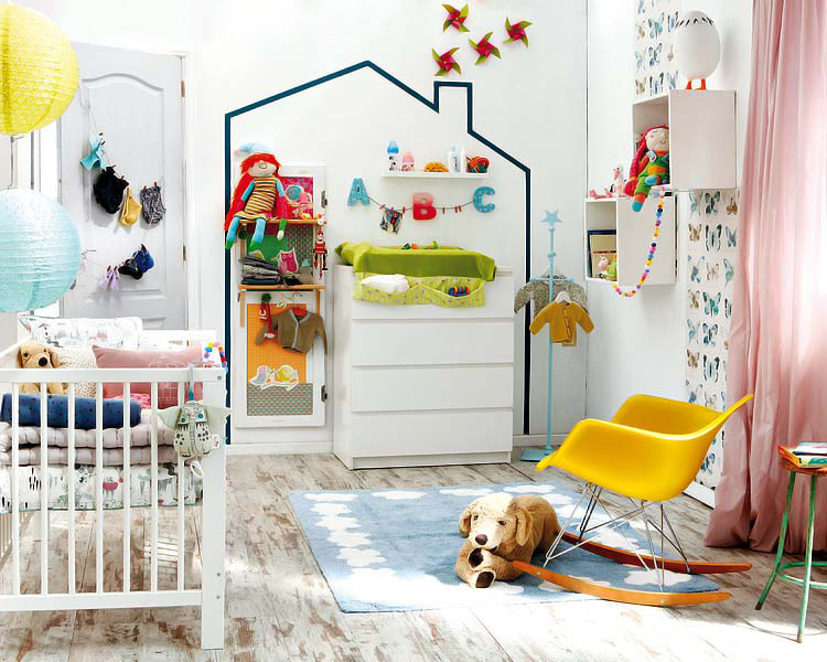 MICASA Revista El cuarto del bebe con el equipo basico 1