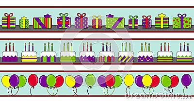 Bandeiras do feliz aniversario