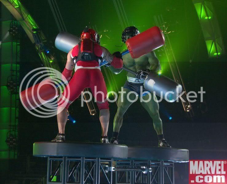 Hulk Fight