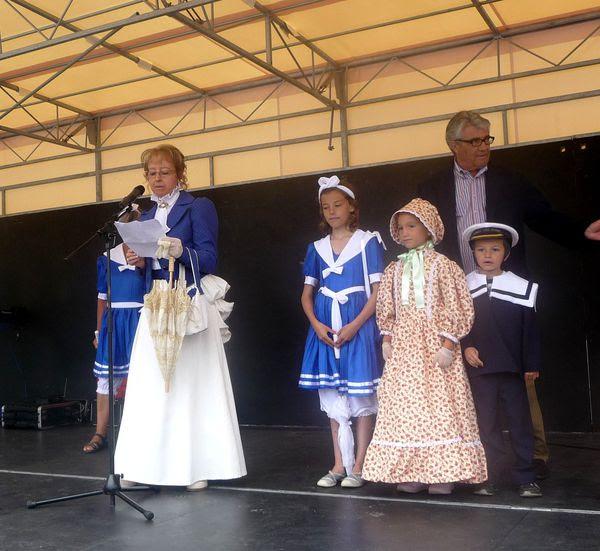 La fête inaugurée par Liliane Jaud et Jean-Pierre Tallieu
