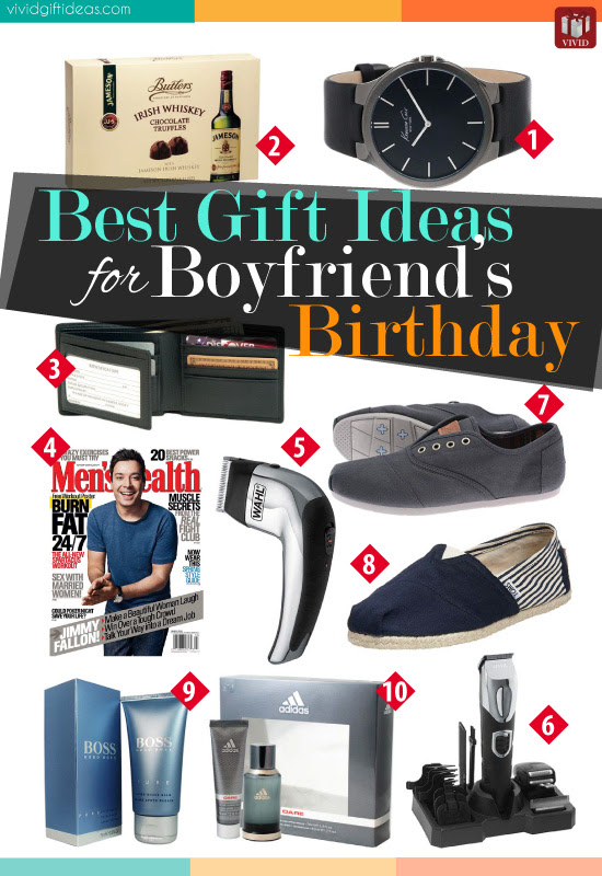 Best Gift Ideas for Boyfriend's Birthday