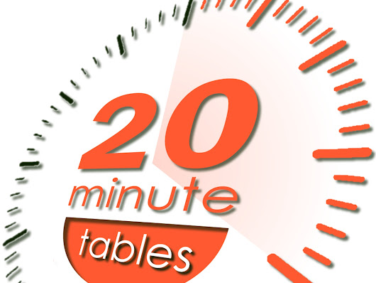 20 Minute Tables: Gets you multiplying with confidence, fast