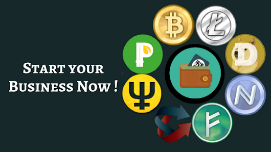 How to start cryptocurrency exchange business with more cryptocurrencies and wallet options ?