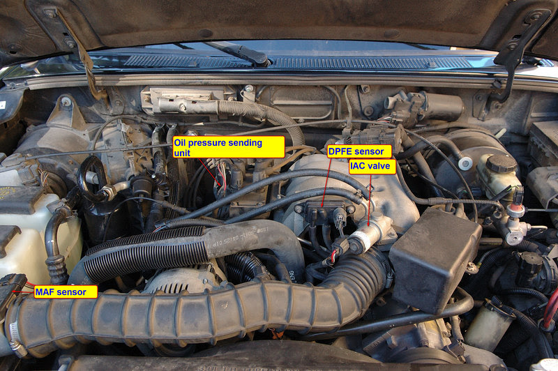 Ranger 3 0l Component Locations Ford Truck Enthusiasts Forums