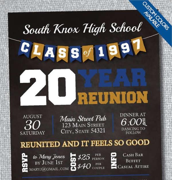 School Reunion Banner Design