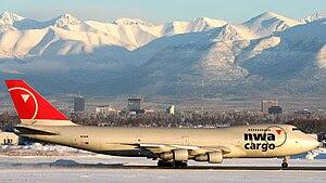 Northwest Airlines Cargo, Boeing 747-251B(SF),...