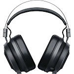 Razer - Nari Wireless THX Spatial Audio Gaming Headset for PC and PlayStation 4 - Black