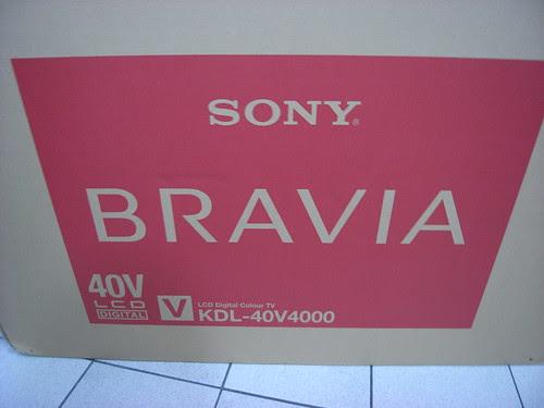 SONY BRAVIA KDL-40V4000