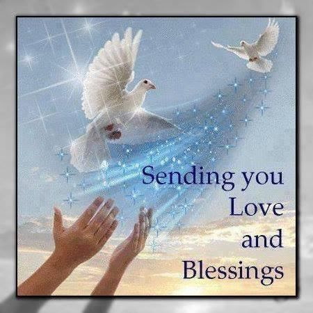 Sending You Love And Blessings Pictures Photos And Images For