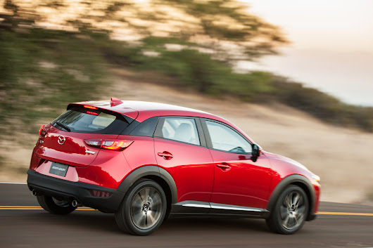 Chicago News Names 2017 Mazda CX-3 Best Crossover of the Year | Inside Mazda