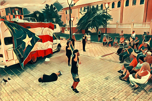 How Puerto Rican artists are channeling grief and loss to restore joy around San Juan