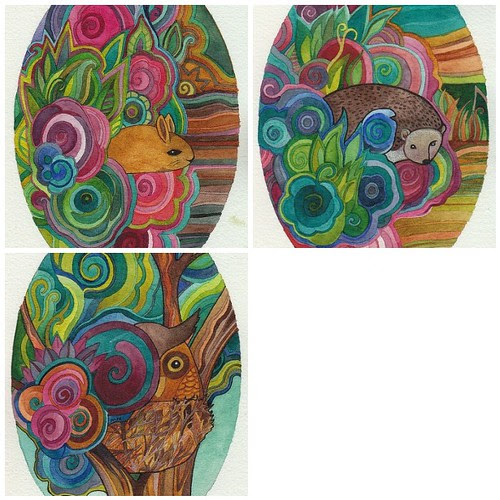 Forest Creatures by megan_n_smith_99