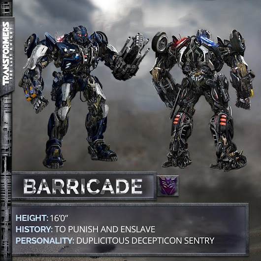 Image: Official Concept Art of Barricade updated for TF5! by Artlover67 ...