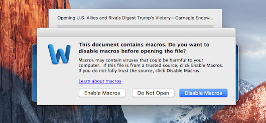 MacOS trojans are becoming more common place, new Word file exploit discovered - KitGuru
