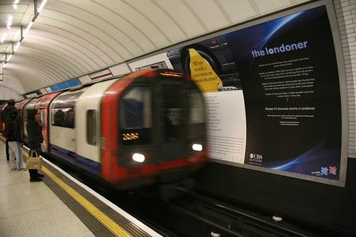 The Londoner Tube Ad