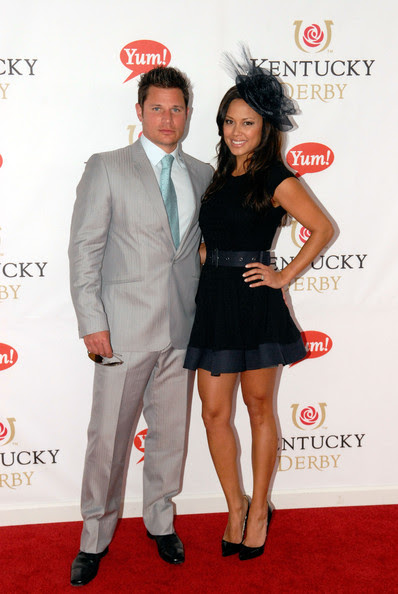 Nick Lachey Nick Lachey and Vanessa Minnillo attends The Kentucky Derby at Churchill Downs on May 7, 2011 in Louisville, Kentucky.