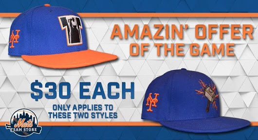 If you're at the Mets game this Thor hat is pretty awesome  - The Mets Police