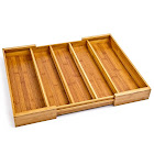 Felji Expandable Bamboo Utensil Tray
