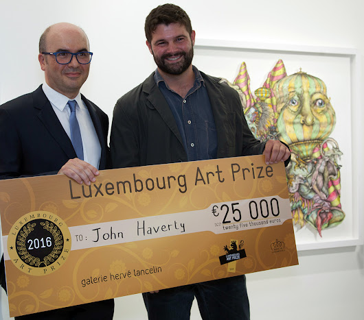 Prize for the emerging artist of the year - Luxembourg Art Prize