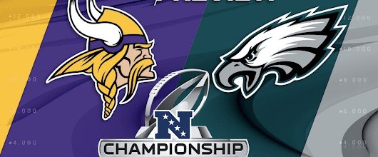 NFL Pick | Playoffs: Minnesota Vikings vs. Philadelphia Eagles | 21-1-2018