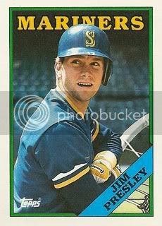 1988 Topps Jim Presley