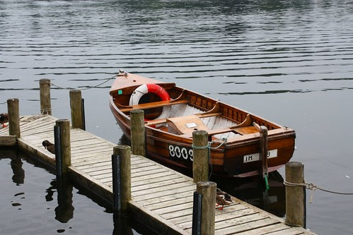 Wooden Boat at Windermere