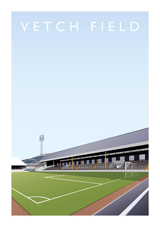 Win an A3 sized Vetch Field Print – SCFC2 The Swansea City Fans Website