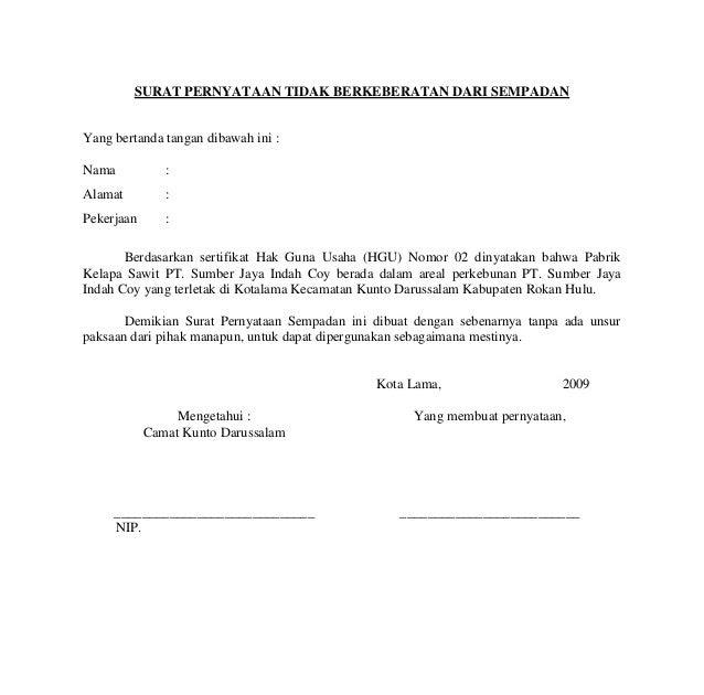 Contoh Surat Pernyataan Tidak Mengulangi Kesalahan ...