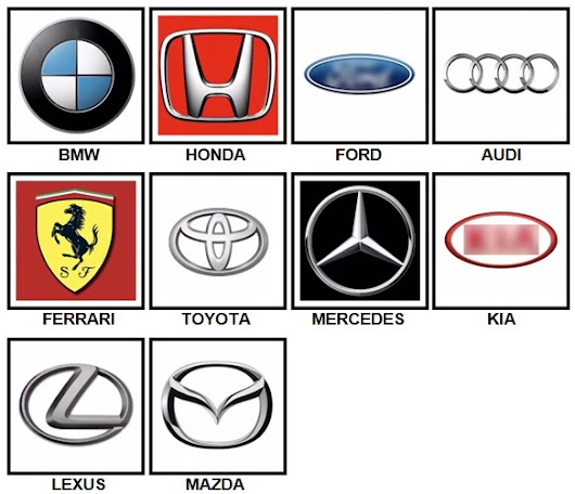 100 Pics Car Logos Answers | 100 Pics Answers