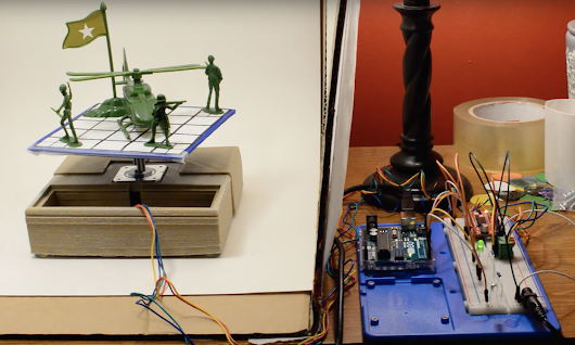 An Arduino-controlled turntable for 3D scanning