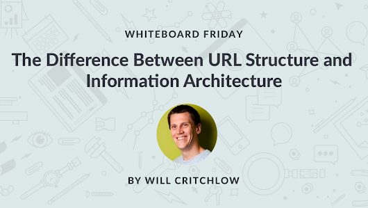 The Difference Between URL Structure and Information Architecture - Whiteboard Friday - Moz